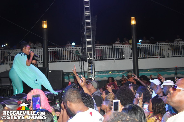 Photos Love Amp Harmony Cruise 2017 Shabba Ranks Elephant Man Dexta Daps Konshens Amp Queen