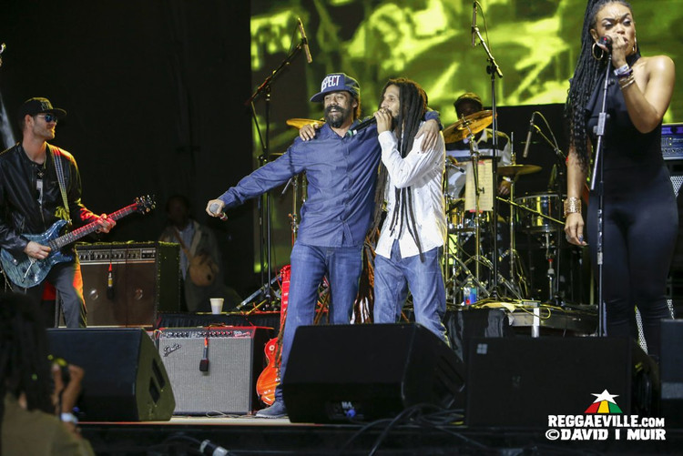 Julian, Stephen & Damian Marley, Sizzla, Capleton, Mavado @9Mile Music Festival 2017