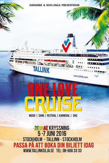 One Love Cruise 2016 - Sweden