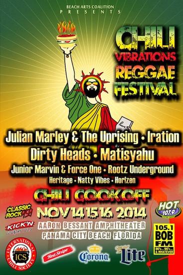 Chili Vibrations Reggae Festival 2014