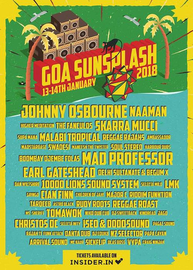 Goa Sunsplash 2018
