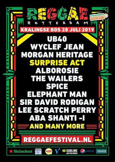 Reggae Rotterdam Festival 2019