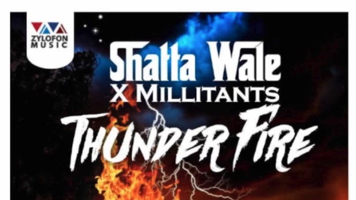 Shatta Wale feat. SM Militants - Thunder Fire [5/31/2018]