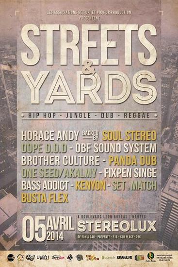 Street & Yards 2014