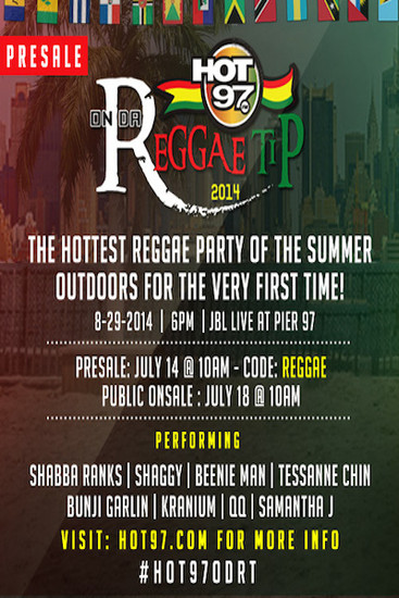 On Da Reggae Tip 2014