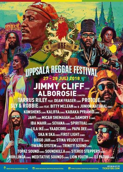 Uppsala Reggae Festival 2018