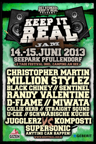 Keep It Real Jam 2013