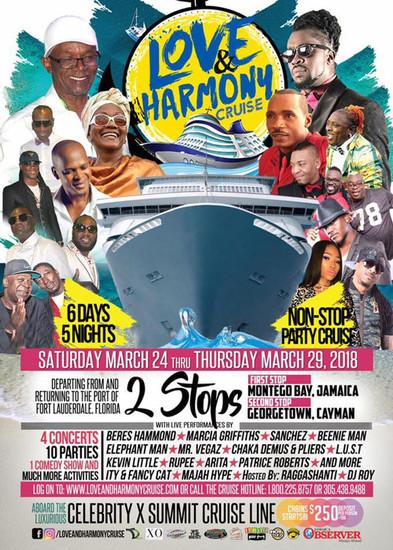 Love And Harmony Cruise 2020.Love Harmony Cruise 2020 Reggaeville Com