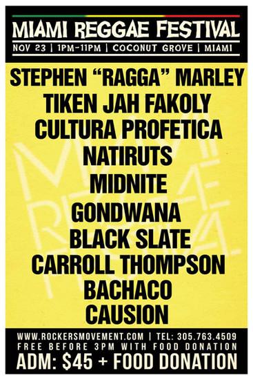 Miami Reggae Festival 2013