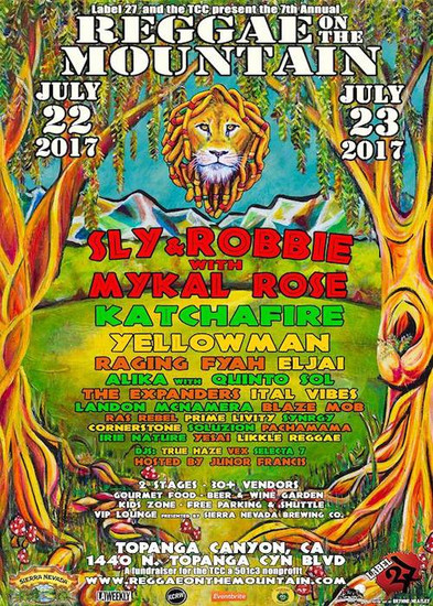 Reggae On The Mountain 2017