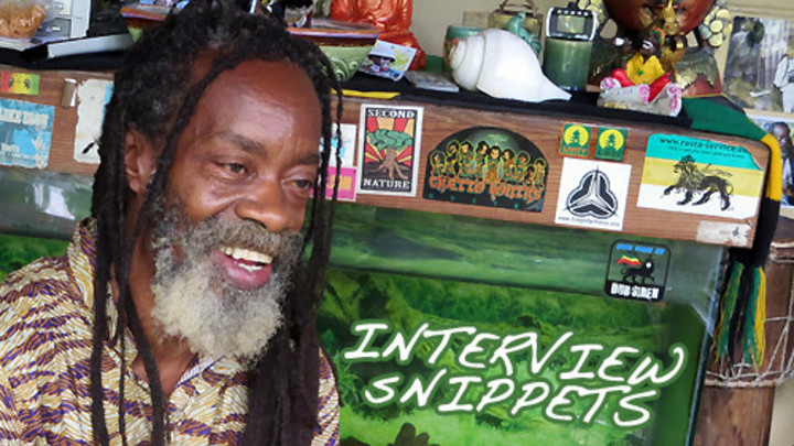 Snippets: Interview with Earl Chinna Smith [12/6/2013]