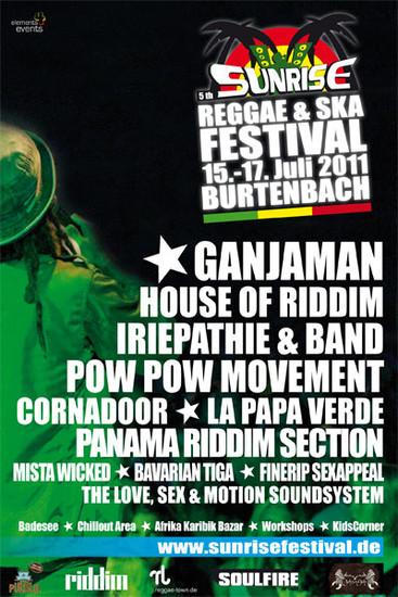 Sunrise Reggae & Ska Festival 2011