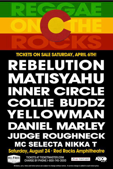 Reggae On The Rocks 2013