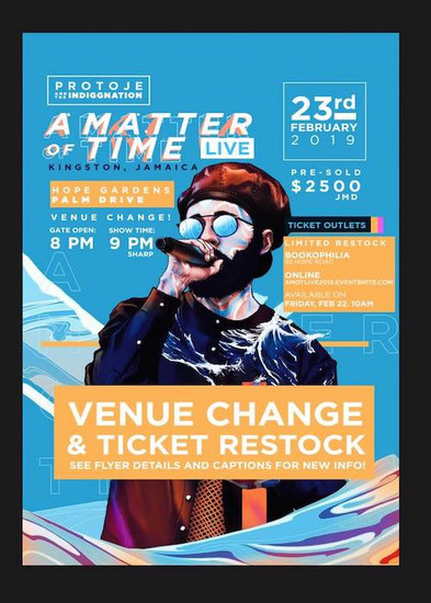 A Matter of Time - Live 2019