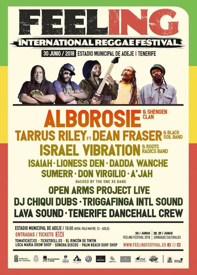 Feeling International Reggae Festival 2018