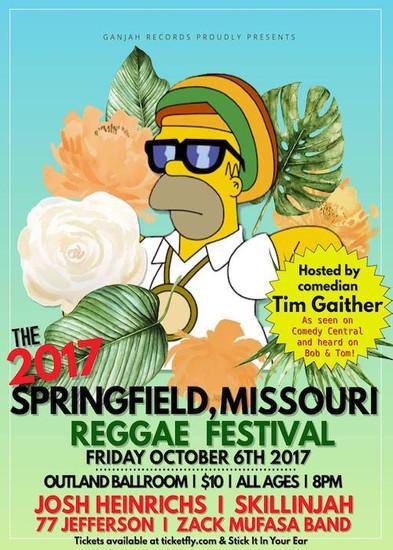 Springfield Reggae Festival 2017