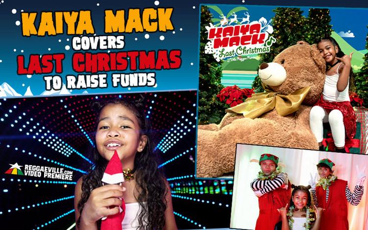 Kaiya Mack Covers Last Christmas To Raise Funds