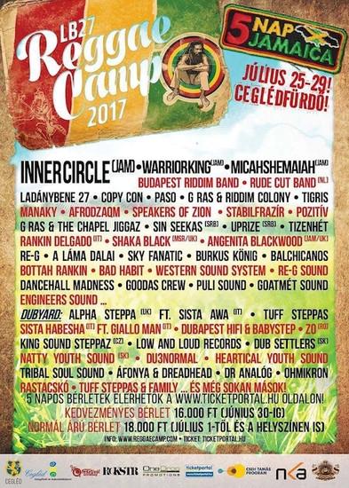 LB27 Reggae Camp 2017
