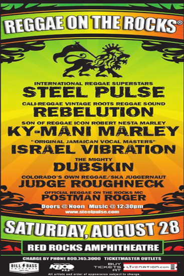 Reggae On The Rocks 2010