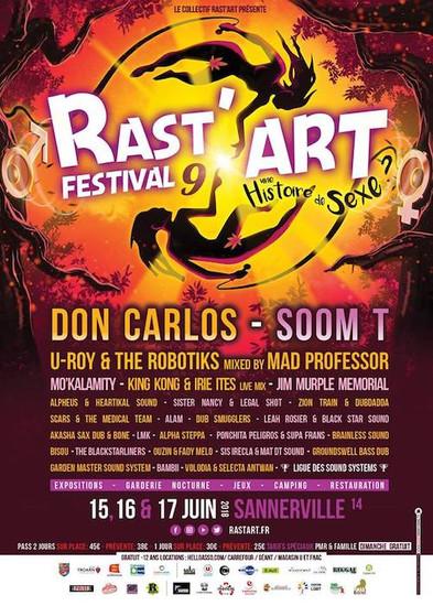Rast'Art Festival 2018