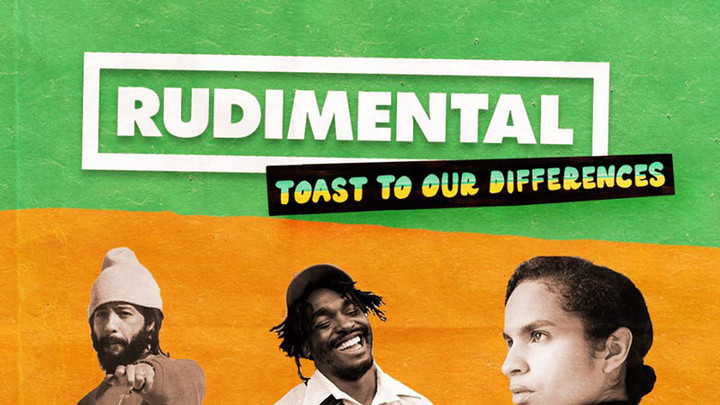 Rudimental feat. Shungudzo, Protoje & Hak Baker - Toast to our Differences [5/24/2018]