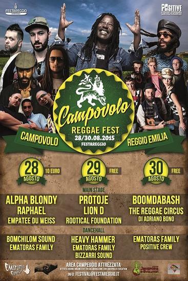 Campovolo Reggae Fest 2015