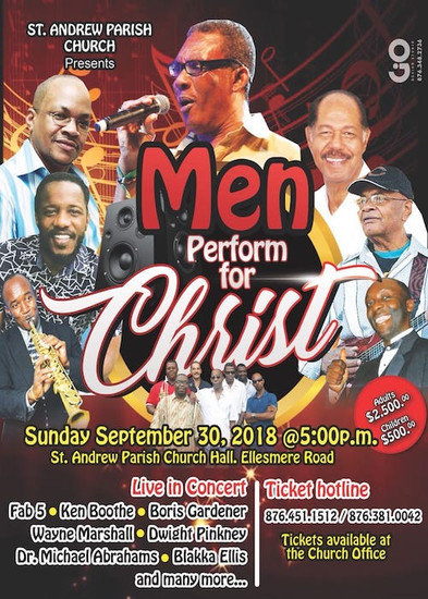 Men Perform For Christ 2018