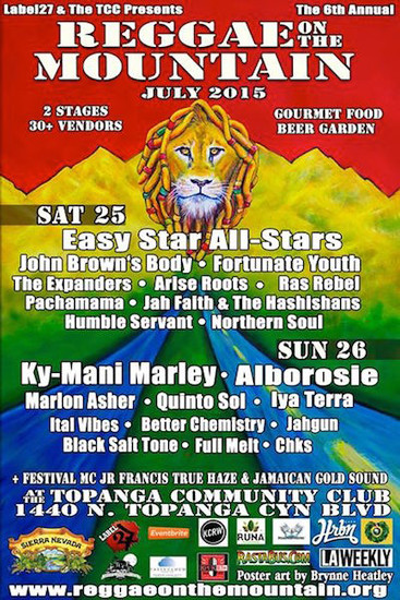 Reggae On The Mountain 2015