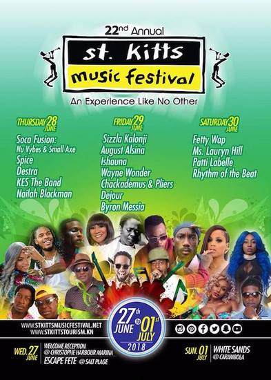 St. Kitts Music Festival 2018
