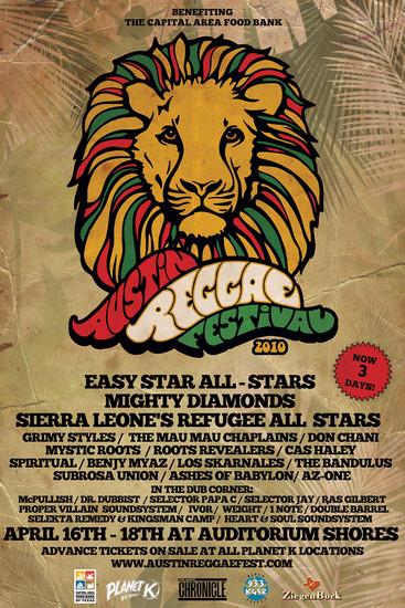 Austin Reggae Festival 2010