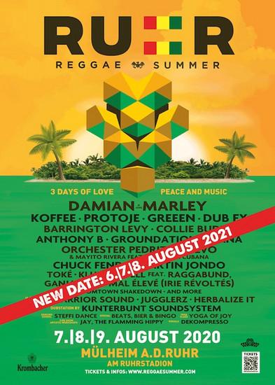 CANCELLED: Ruhr Reggae Summer 2020