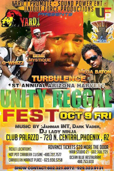 Unity Reggae Fest 2015