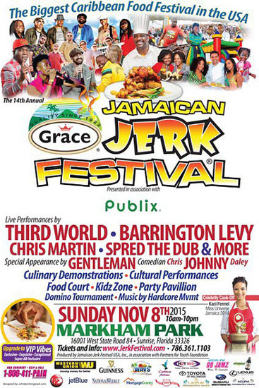 Jamaican Jerk Festival 2015 - Florida