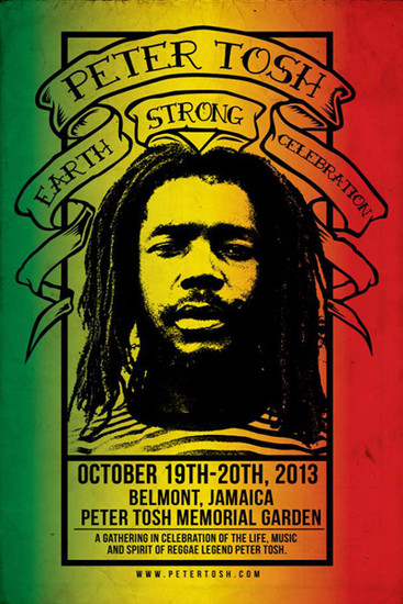 Peter Tosh Earth Strong Celebration 2013