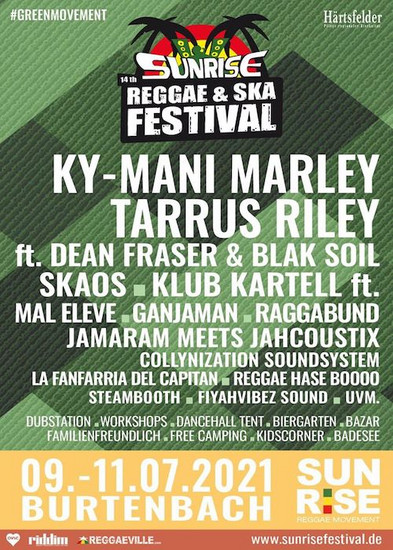 CANCELLED: Sunrise Reggae & Ska Festival 2021