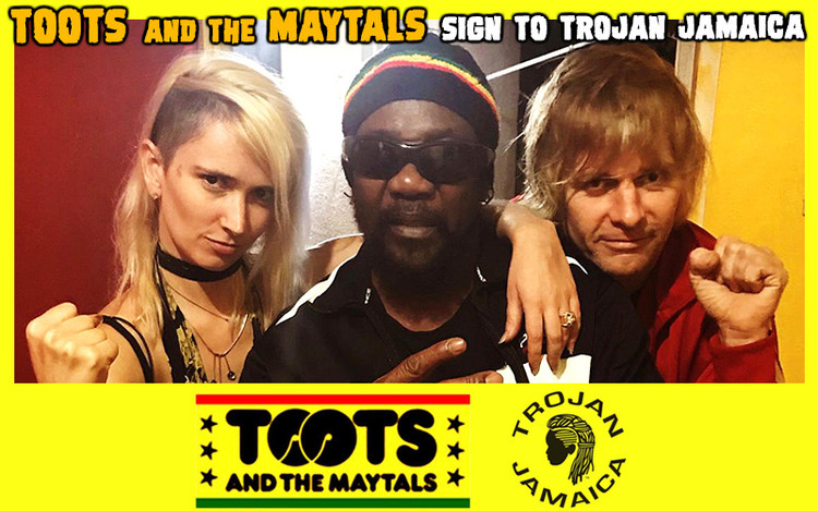 Toots and the Maytals sign to Trojan Jamaica