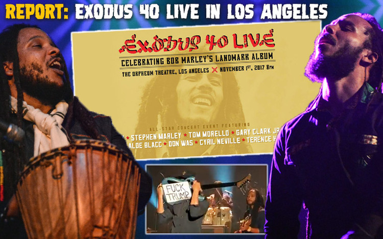 Report: Exodus 40 Live - An All-Star Concert Event with Ziggy & Stephen Marley