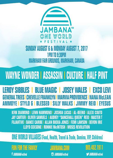 Jambana One World Festival 2017