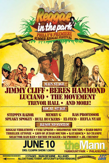 Reggae In The Park 2012