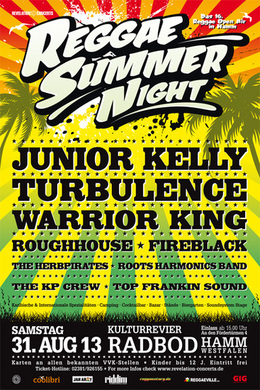 Reggae Summer Night 2013