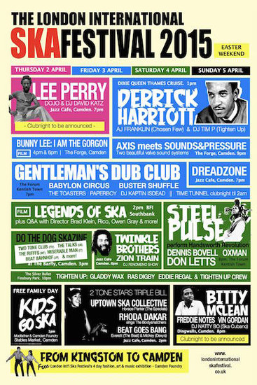 London International Ska Festival 2015