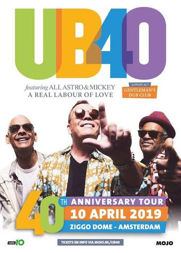 UB40 feat. Ali, Astro & Mickey 4-10-2019