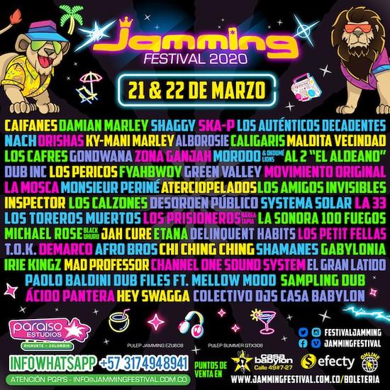 POSTPONED: Jamming Festival 2020