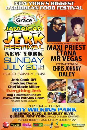 Jamaican Jerk Festival 2014