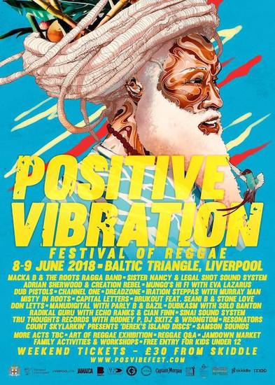 Positive Vibration 2018 - Festival Of Reggae