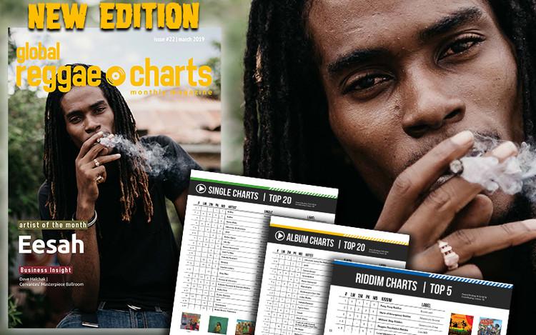 Eesah @ Global Reggae Charts - Issue 22 (March 2019)