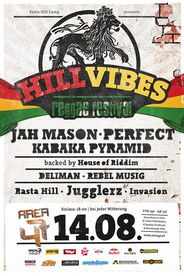 Hill Vibes Reggae Festival 2013