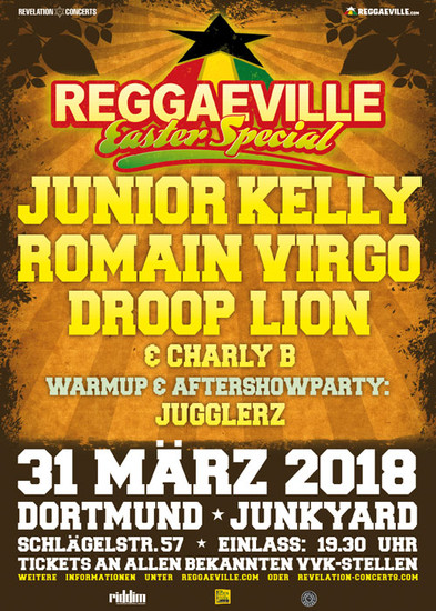 Reggaeville Easter Special - Dortmund 2018