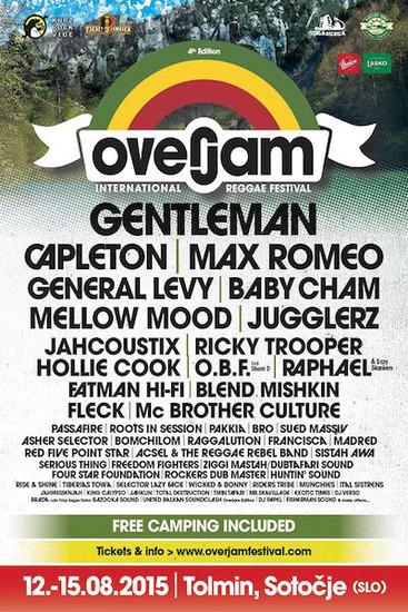 Overjam Reggae Festival 2015