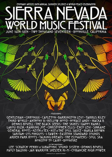 Sierra Nevada World Music Festival 2017